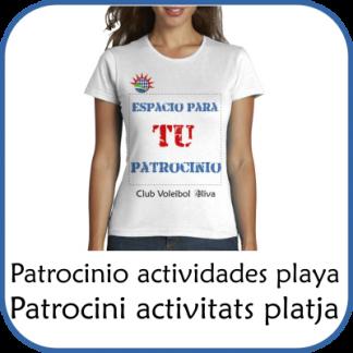 Patrocinio Actividades Playa
